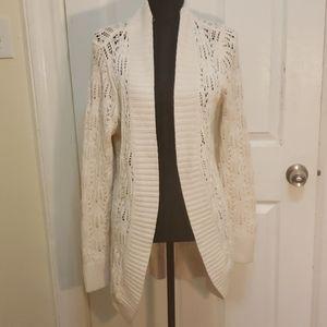 Sonoma Oversized Cream Sweater L